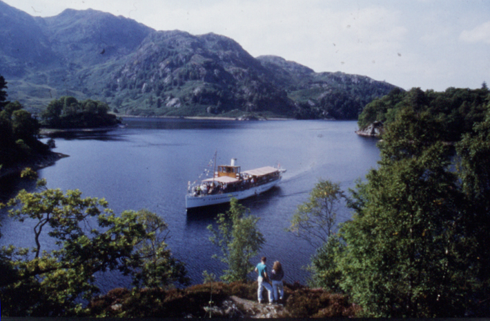 Self Drive Holidays in Scotland Loch Katrine